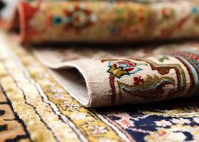 folded rugs