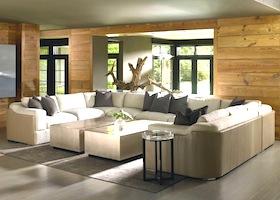 a large sectional