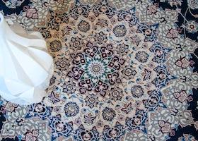 detailed fine rug