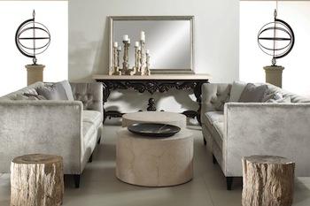 a grey tone living room