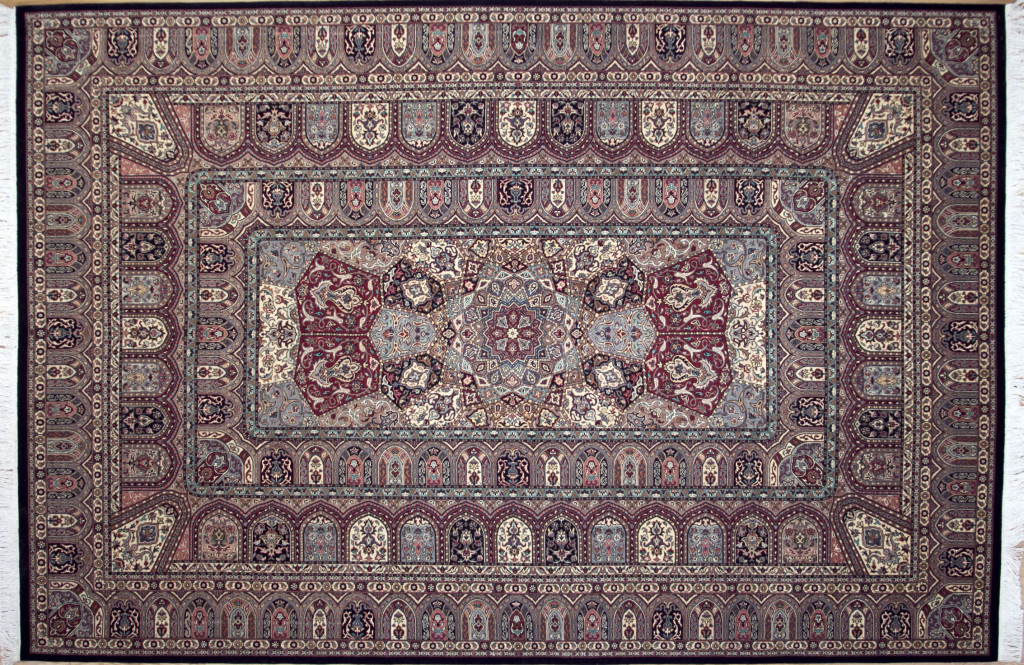 "Persian Gonbad or ""Dome"" Rug"