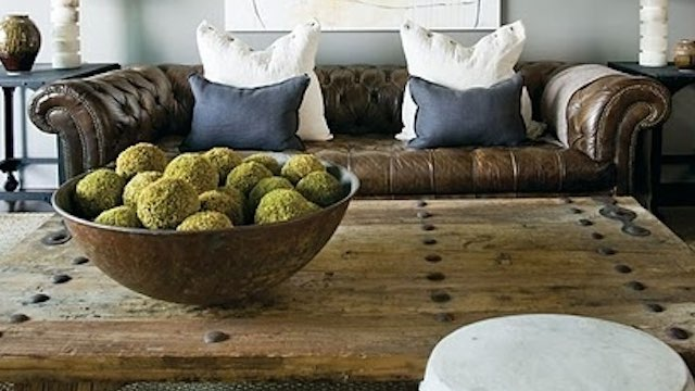 Bowls and table