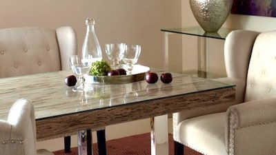 In-home showing dining tables
