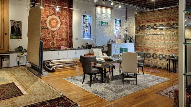 various oriental rugs