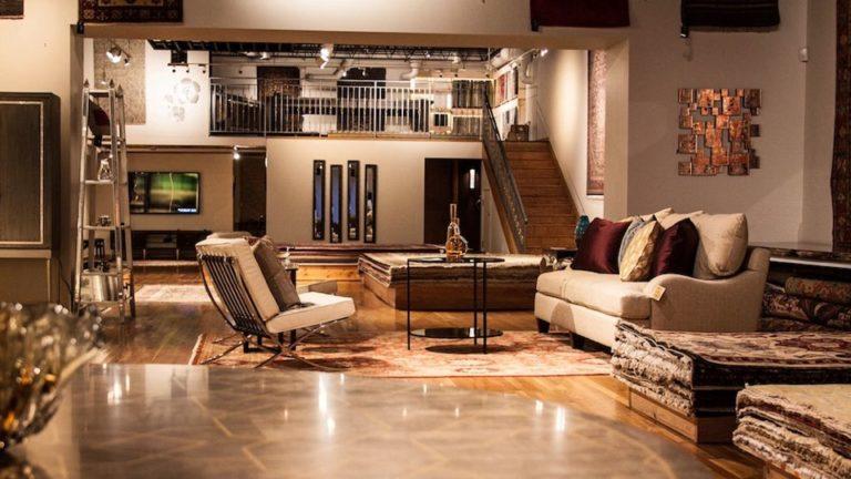 Oriental rugs Ibraheems 636 S Broadway Denver, CO 80209 Showroom upper level