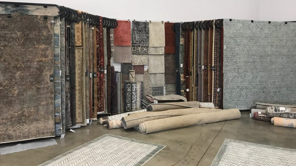 Ibraheems 5090 Acoma St, Denver, CO 80216 Showroom showing oriental rugs