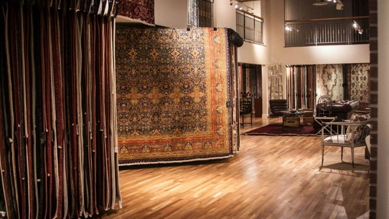 Oriental rugs Ibraheems 636 S Broadway Denver, CO 80209 Showroom